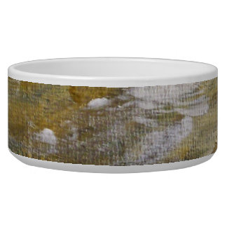 Camoflauge Woodland Pattern. Bowl