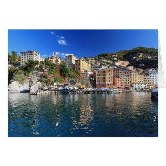 Camogli from the sea card