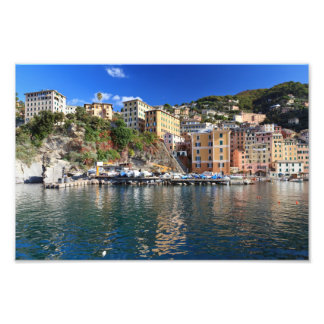 Camogli from the sea photo