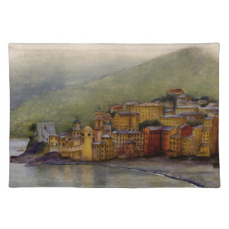 Camogli, Italy Placemat Cloth Place Mat