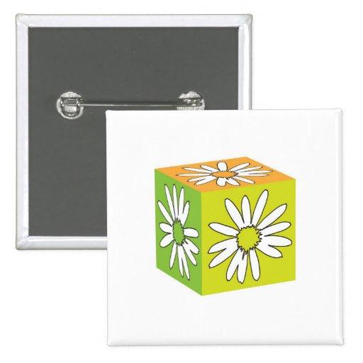 Camomile Cube Pins