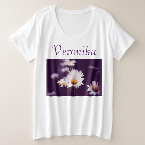 Camomile dreams plus size T_Shirt