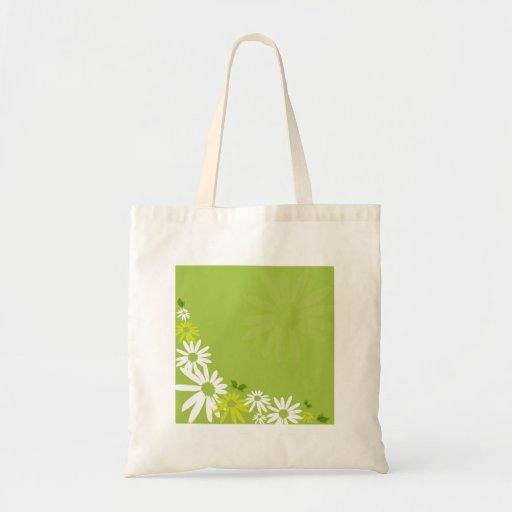 Camomile Flowers Canvas Bag