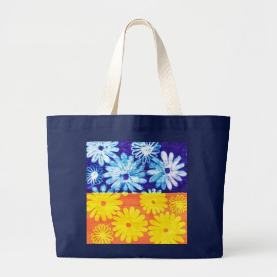 camomile large tote bag