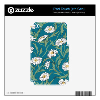 Camomiles iPod Touch 4G Skin