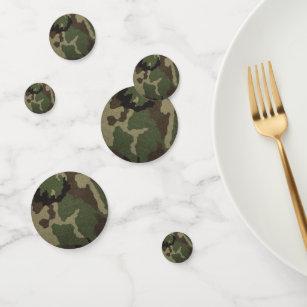 Camouflage Confetti Table Decorations Zazzle