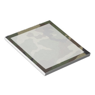 Camouflage 1 notepad