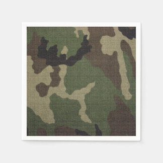Camouflage 1 paper napkin