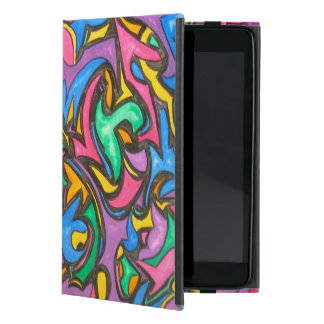 Camouflage - Abstract Art Handpainted iPad Mini Cover