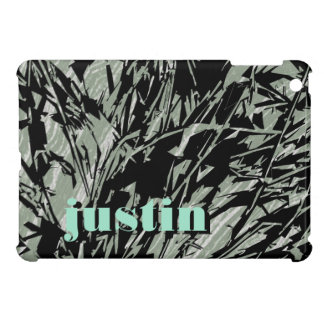 Camouflage Abstract Silhouettes iPad Mini Cover