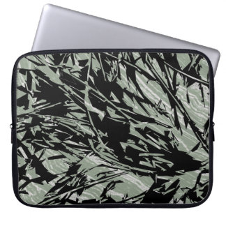 Camouflage Abstract Silhouettes Laptop Computer Sleeves