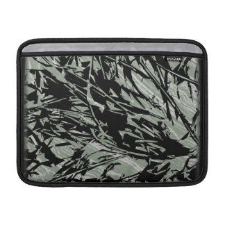 Camouflage Abstract Silhouettes MacBook Sleeves