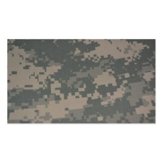 Camouflage ACU Pattern Troops Deployment Veterans Double-Sided Standard Business Cards (Pack Of 100)