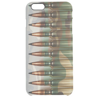 Camouflage Ammo Clear iPhone 6 Plus Case