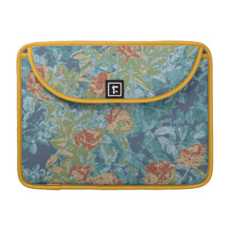 Camouflage and flowers sleeve for MacBooks