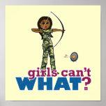 Camouflage Archery Girl - Dark Print