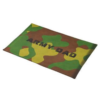 Camouflage Army Dad Placemat