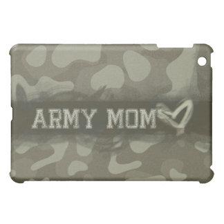 Camouflage Army Mom Heart of Love iPad Mini Cover