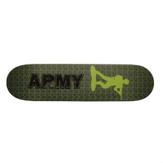 camouflage  ARMY skateboard