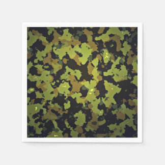 Camouflage Backdrop Paper Napkin
