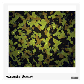Camouflage Backdrop Wall Sticker
