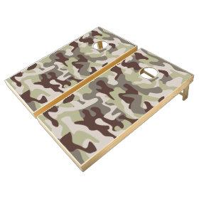 Camouflage Bean Bag Toss Camo Cornhole Game Set Cornhole Sets