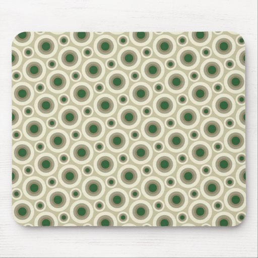 Camouflage bubbles mouse pad