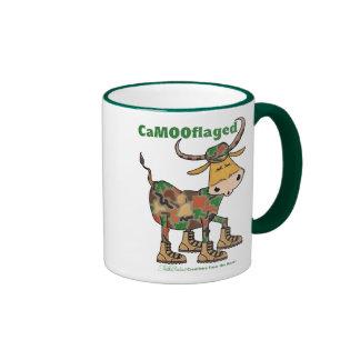 Camouflage Bull Coffee Mug