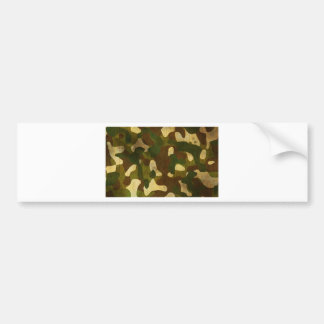 Camouflage Bumper Stickers