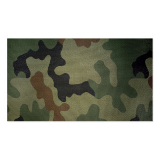 Camouflage Business Cards