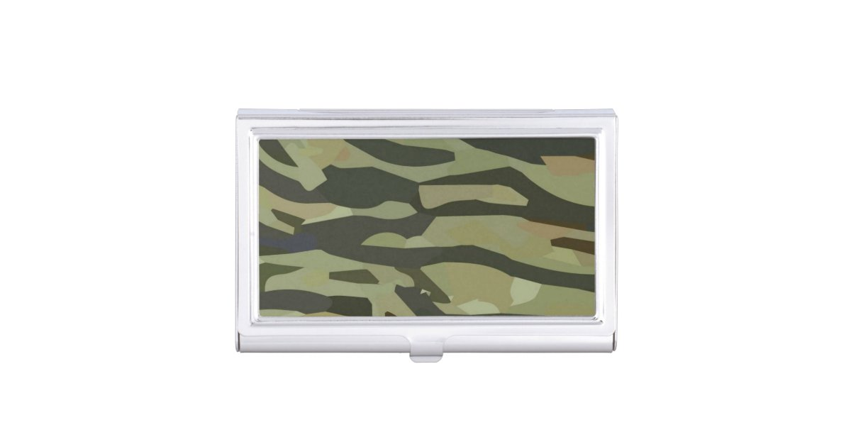 Camouflage Business Card Holder | Zazzle.com