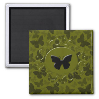 Camouflage Butterflies Magnet