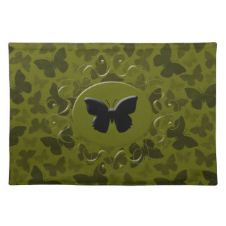 Camouflage Butterflies Placemat