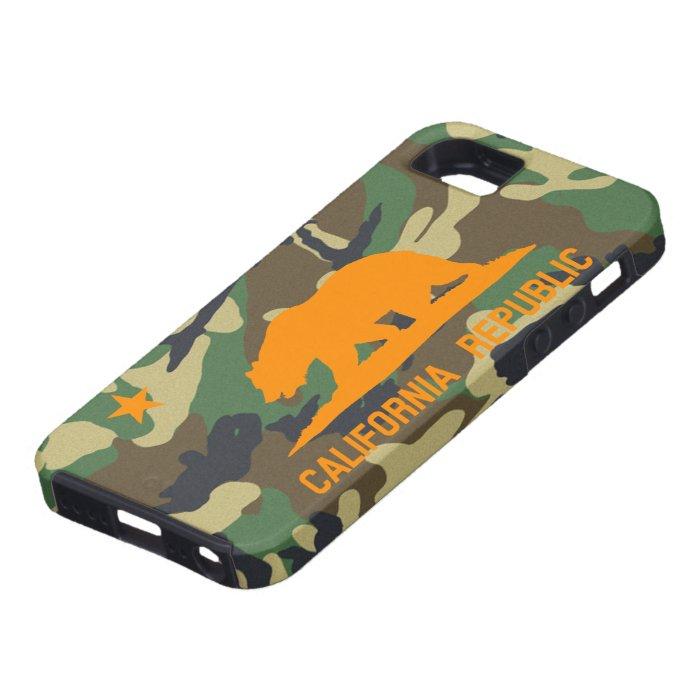 Camouflage California Flag iPhone SE/5/5s Case