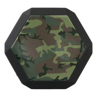 Camouflage Camo Green Brown Pattern Black Bluetooth Speaker