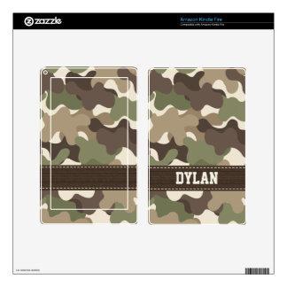 Camouflage Camo Kindle Fire Skin