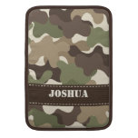 Camouflage Camo Macbook Air Sleeve 13 and 11 Inch