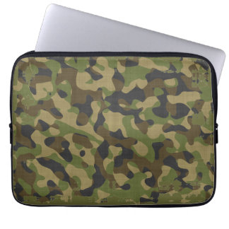 Camouflage, Camo, Military, Hunters Pattern Computer Sleeves