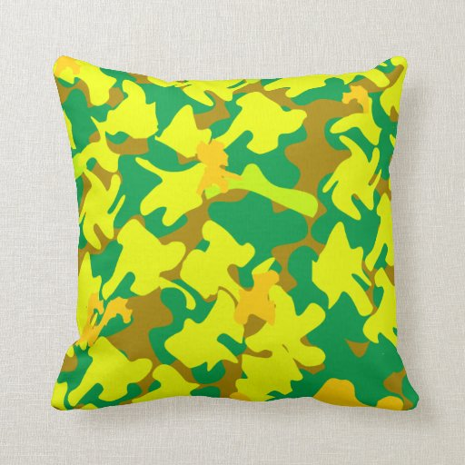 Camo Couch Throw Pillows : Camouflage Camo Military Throw Pillow Zazzle
