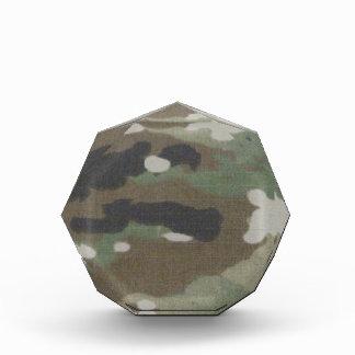 Camouflage Camo uniform fatigues office Acrylic Award