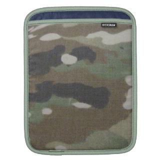 Camouflage Camo uniform fatigues office iPad Sleeves