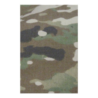 Camouflage Camo uniform fatigues office Stationery