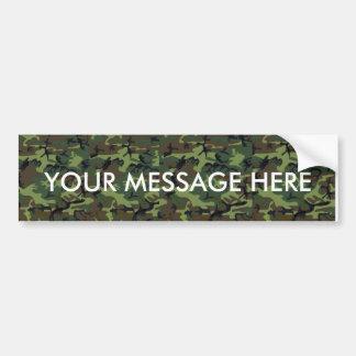 Camouflage Camouflage Bumper Sticker