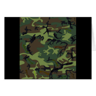 Camouflage Camouflage Card