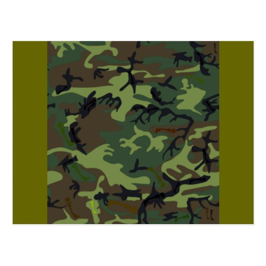Camouflage Camouflage Postcard
