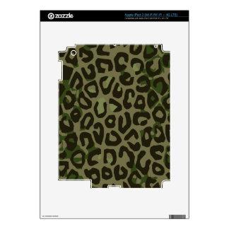 Camouflage Cheetah Abstract iPad 3 Decal
