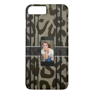 Camouflage Cheetah Replace The Image iPhone 8 Plus/7 Plus Case