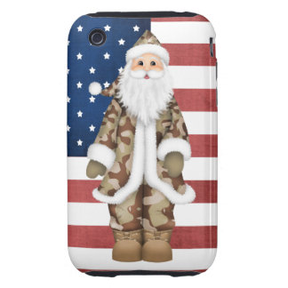 Camouflage Christmas 3G/3GS Tough iPhone Case