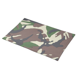 Camouflage Cloth Placemat
