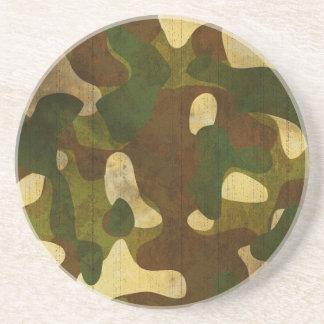 Camouflage Beverage Coaster